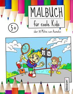 Malbuch für coole Kids von Zimmermann,  Dana