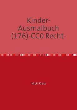 Malbuch für Kinder 176 von Kretz,  Nicki
