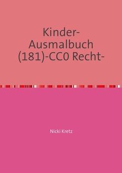 Malbuch für Kinder 181 von Kretz,  Nicki
