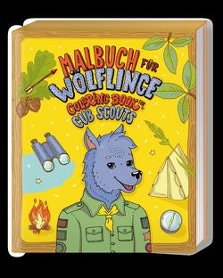 Malbuch für Wölflinge