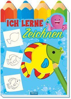 """Malbuch """"Ich lerne Zeichnen"""" von Trötsch Verlag e. K."""
