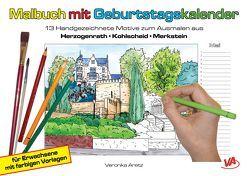 Malbuch mit Geburtstagskalender aus Herzogenrath ▪ Kohlscheid ▪ Merkstein von Aretz,  Veronika