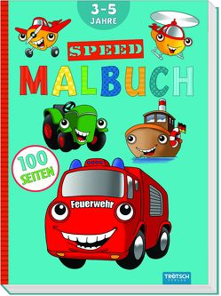 Malbuch SPEED von Trötsch Verlag