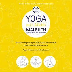 "Malbuch ""Yoga mit Mukti"""