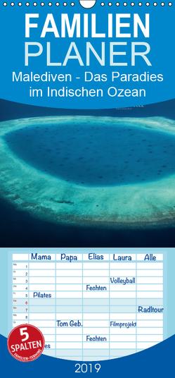 Malediven – Das Paradies im Indischen Ozean III – Familienplaner hoch (Wandkalender 2019 , 21 cm x 45 cm, hoch) von RODRIGUEZ Photography,  CLAVE