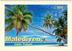 Malediven – mein Traum (Wandkalender 2019 DIN A2 quer) von Roder,  Peter