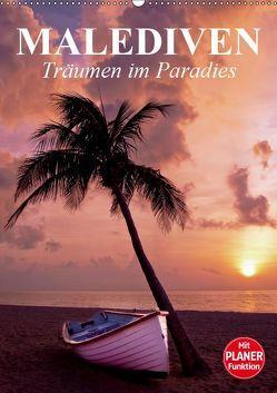 Malediven – Träumen im Paradies (Wandkalender 2019 DIN A2 hoch) von Stanzer,  Elisabeth