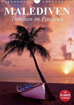 Malediven – Träumen im Paradies (Wandkalender 2019 DIN A4 hoch) von Stanzer,  Elisabeth