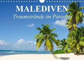 Malediven – Traumstrände im Paradies (Wandkalender 2018 DIN A4 quer) von Stanzer,  Elisabeth