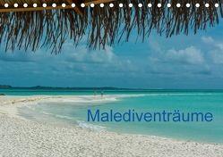 Malediventräume (Tischkalender 2018 DIN A5 quer) von Blome,  Dietmar