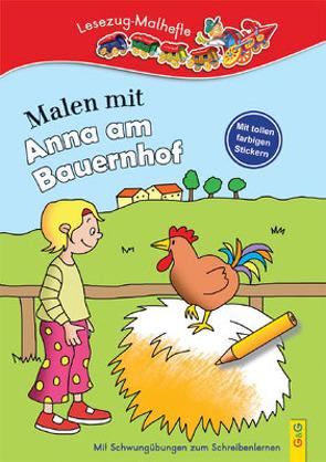 Malen mit Anna am Bauernhof von Guhe,  Irmtraud