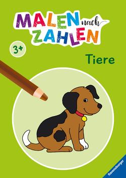 Malen nach Zahlen ab 3 Jahren: Tiere von Merle,  Katrin