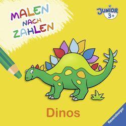 Malen nach Zahlen junior: Dinos von Pahl,  Simone