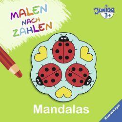 Malen nach Zahlen junior: Mandalas von Merle,  Katrin