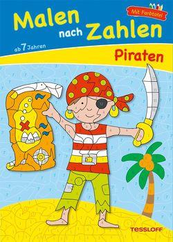 Malen nach Zahlen Piraten ab 7 Jahren von Schmidt,  Sandra