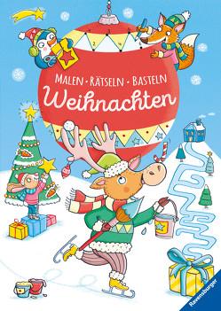 Malen – Rätseln – Basteln: Weihnachten von Peikert,  Marlit, Pustlauk,  Thilo, Thau,  Christine