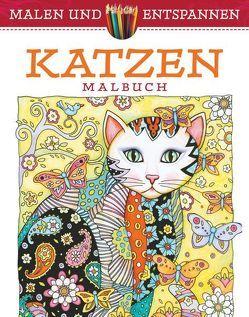 Malen und entspannen: Katzen von Sarnat,  Marjorie
