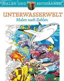 Malen und entspannen: Unterwasserwelt von Toufexis,  George