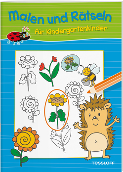 Malen und Rätseln für Kindergartenkinder (Blau) von Pautner,  Norbert, Poppins,  Oli, Schmidt,  Sandra, Schwendemann,  Nadja, Tessloff Verlag, Turnhofer,  Kersti