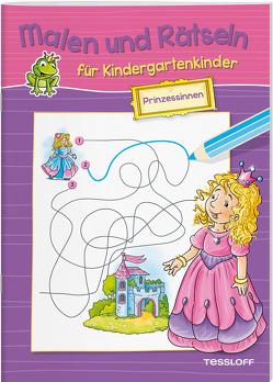 Malen und Rätseln für Kindergartenkinder. Prinzessinnen von Lohr,  Stefan