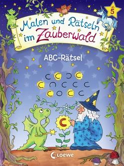 Malen und Rätseln im Zauberwald – ABC-Rätsel von Beurenmeister,  Corina