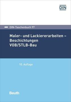 Maler- und Lackiererarbeiten – Beschichtungen VOB/STLB-Bau