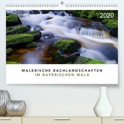 Malerische Bachlandschaften im Bayerischen Wald (Premium, hochwertiger DIN A2 Wandkalender 2020, Kunstdruck in Hochglanz) von Maier,  Norbert
