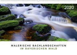 Malerische Bachlandschaften im Bayerischen Wald (Wandkalender 2020 DIN A2 quer) von Maier,  Norbert
