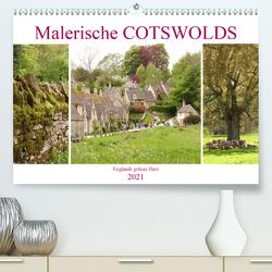 Malerische Cotswolds (Premium, hochwertiger DIN A2 Wandkalender 2021, Kunstdruck in Hochglanz) von Kruse,  Gisela