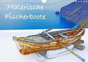 Malerische Fischerboote (Wandkalender 2020 DIN A4 quer) von Sommer,  Melanie