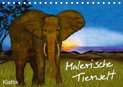 Malerische Tierwelt (Tischkalender 2019 DIN A5 quer) von Klattis