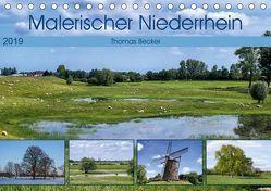 Malerischer Niederrhein (Tischkalender 2019 DIN A5 quer)