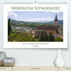 Malerischer Schwarzwald (Premium, hochwertiger DIN A2 Wandkalender 2020, Kunstdruck in Hochglanz) von Wagner,  Hanna