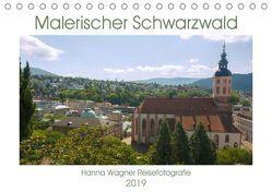 Malerischer Schwarzwald (Tischkalender 2019 DIN A5 quer) von Wagner,  Hanna