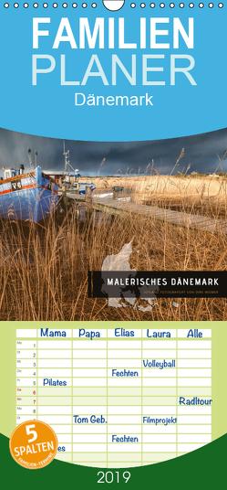 Malerisches Dänemark – Familienplaner hoch (Wandkalender 2019 , 21 cm x 45 cm, hoch) von Wiemer,  Dirk
