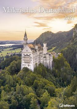 Malerisches Deutschland 2021 – Foto-Kalender – Wand-Kalender – 29,7×42
