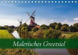 Malerisches Greetsiel (Tischkalender 2018 DIN A5 quer) von Dreegmeyer,  Hardy
