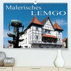 Malerisches Lemgo (Premium, hochwertiger DIN A2 Wandkalender 2021, Kunstdruck in Hochglanz) von happyroger