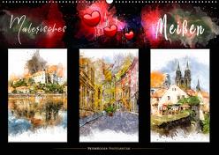 Malerisches Meißen (Wandkalender 2019 DIN A2 quer) von Roder,  Peter