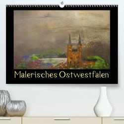 Malerisches Ostwestfalen (Premium, hochwertiger DIN A2 Wandkalender 2021, Kunstdruck in Hochglanz) von Diedrich,  Sabine