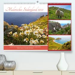 Malerisches Südengland 2021 (Premium, hochwertiger DIN A2 Wandkalender 2021, Kunstdruck in Hochglanz) von SusaZoom