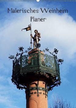 Malerisches Weinheim – Planer (Wandkalender 2019 DIN A2 hoch) von Andersen,  Ilona