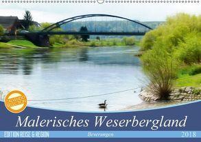 Malerisches Weserbergland – Beverungen (Wandkalender 2018 DIN A2 quer) von Teßen,  Sonja