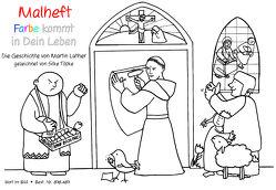 Malheft Die Geschichte von Martin Luther
