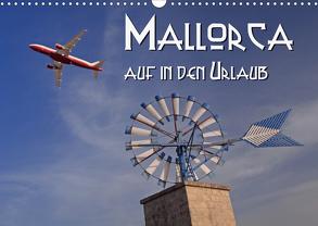 Mallorca – auf in den Urlaub (Wandkalender 2020 DIN A3 quer) von Blume,  Hubertus