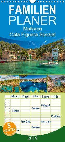 Mallorca – Cala Figuera Spezial – Familienplaner hoch (Wandkalender 2019 , 21 cm x 45 cm, hoch) von Seibertz,  Juergen