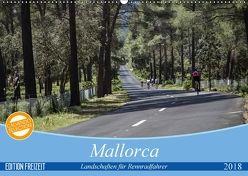Mallorca: Die schönsten Landschaften für Rennradfahrer (Wandkalender 2018 DIN A2 quer) von Poul,  Herbert