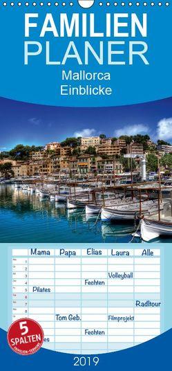 Mallorca – Einblicke – Familienplaner hoch (Wandkalender 2019 , 21 cm x 45 cm, hoch) von Seibertz,  Juergen