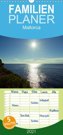 Mallorca – Familienplaner hoch (Wandkalender 2021 , 21 cm x 45 cm, hoch) von Kulla,  Alexander