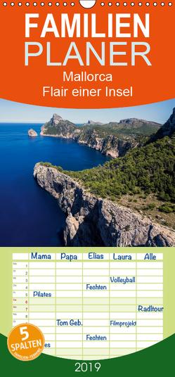 Mallorca – Flair einer Insel – Familienplaner hoch (Wandkalender 2019 , 21 cm x 45 cm, hoch) von Dreegmeyer,  H.
